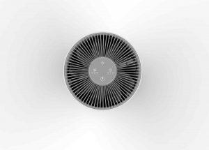 Luftreiniger Volume mit drei Geschwindigkeits- und Timerstufen